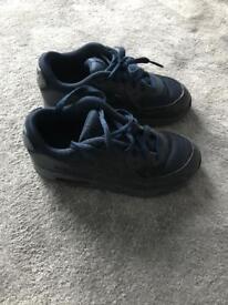 Blue Nike air max junior uk 13.5