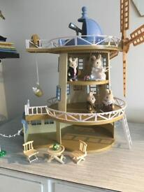 Sylvanian windmill figures EXCELLENT CONDITION