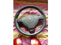 Vauxhall Astra Steering Wheel SRI SXI mk5 H