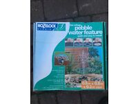 Hozelock garden fountain kit for pebble water feature