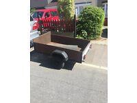cheap box trailer