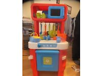 Mothercare/ELC Little Cooks Play Kitchen good working condition suitable for 3yrs and up