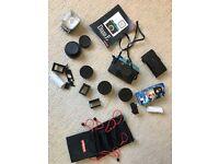 Diana F+ Lomography Camera set