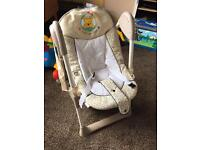 Hauck sit n relax baby chair high chair
