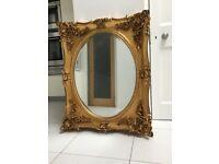 Laura Ashley Beth Champagne Rectangular Mirror
