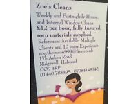 Cleaner Available covering Braintree