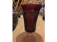 Partylite Hurricane Vase