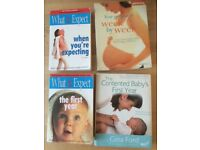 Pregnancy books, Gina Ford and others