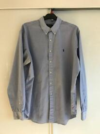 Men's Light Blue Ralph Lauren Shirt - genuine