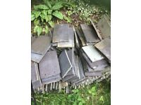FREE used roof tiles, ideal for sheds.