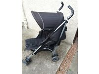 Buggy-black mclaren pushchair