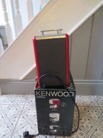Kenwood Kmix Raspberry Red still boxed