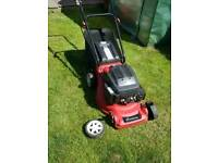 Sovereign Petrol lawn mower.