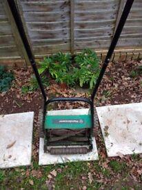 Handmower - push lawnmower, no power required