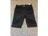 Next Black denim shorts brand new