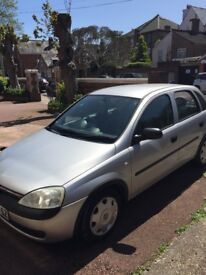 Vauxhall Corsa **NEW MOT** with **VERY LOW MILEAGE** and **GOOD CONDITION**