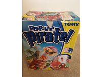 Pop up pirate - game
