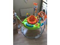 Fisher Price Jumperoo and Bouncer