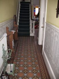 Double en-suite Room to let immediately in beautiful, large Victorian Terrace in City Centre