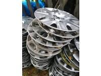 Peugeot wheel trims, 207 206 205 208 306 307 308 106 107 partner boxer