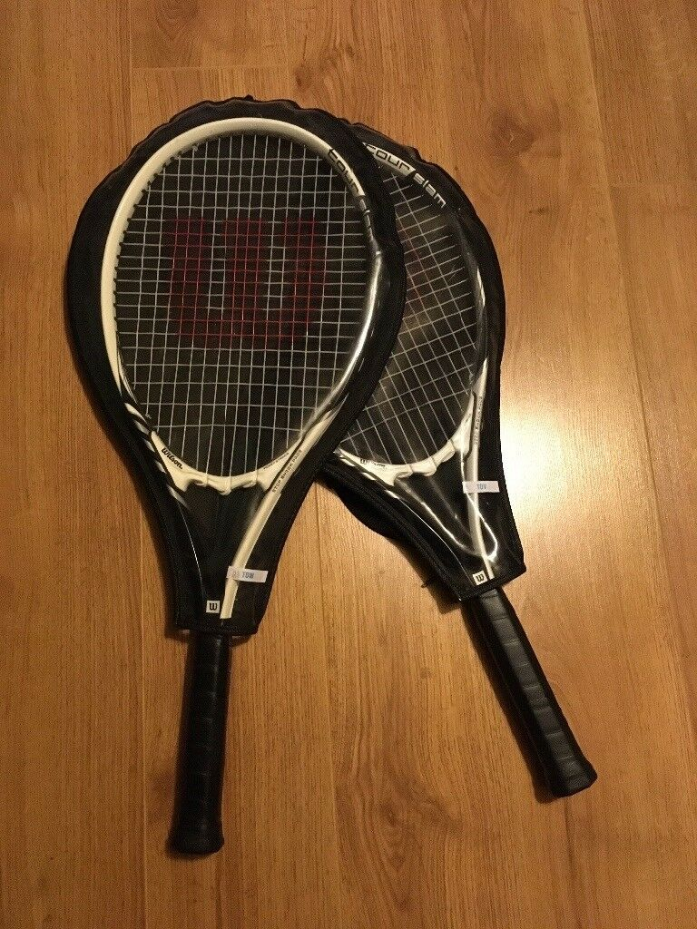 2 WILSON tennis racquets for sale