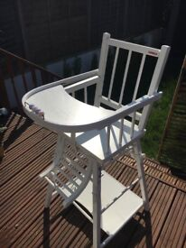 Zara home convertible high chair