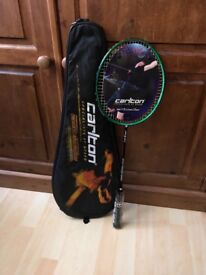 Carlton badminton rackets. Specialists at speed. Air blade 400. Brand new. It was £41. Now £28.