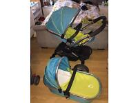 Icandy peach sweetpea Pram pushchair
