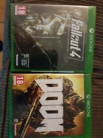 Xbox one games new sealed