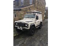 Land Rover defender td5 56 plate