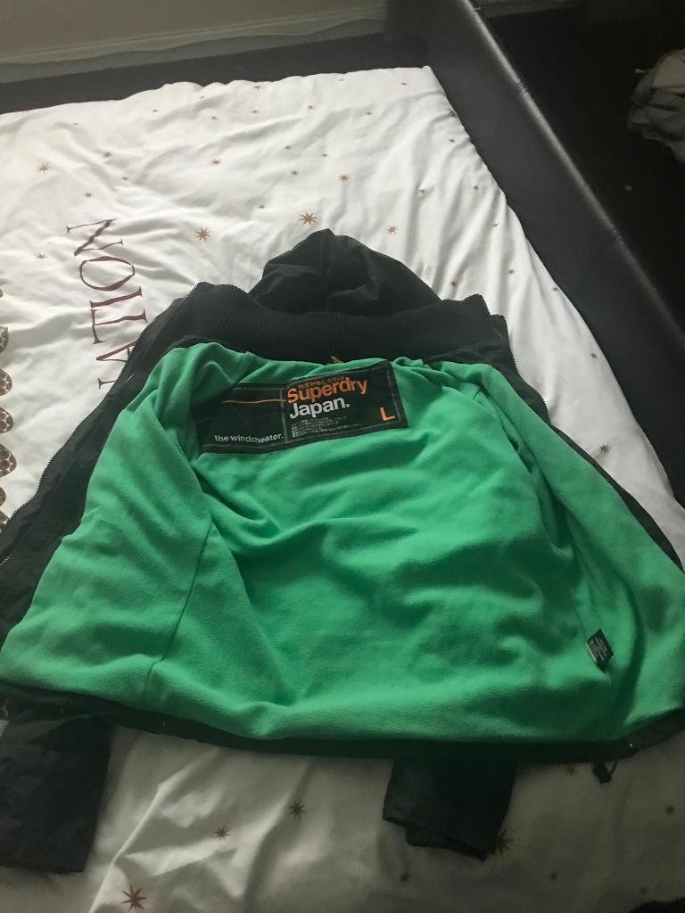 SuperDry wind cheater
