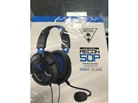 Turtle beach recon 50p wired headphones PS4
