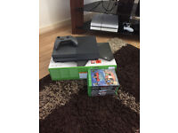 Xbox One S with 1 pad and 8 games