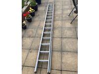 Extendable 20ft ladder