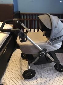 Stokke complete travel system excellent condition