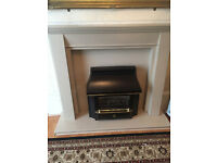 Marble/stone fireplace