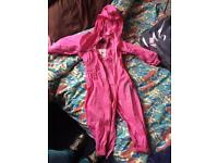 Pink regatta splash suit, 18-24 months