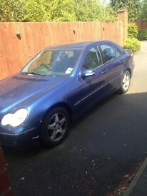 Mercedes avant garde diesel blue leather interior second owner from new full service history