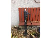 Iron Water Pump for garden or water feature