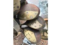 Vintage golf clubs swap