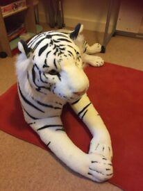 Big soft cuddly Tiger