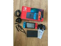 Nintendo Switch 32GB boxed perfect condition
