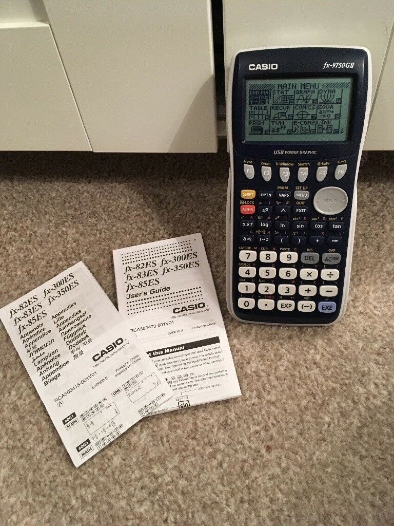 Casio Graphic Calculator