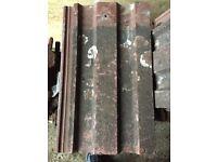 Red concrete pan tiles (anchor vangaurds 83) 150-160