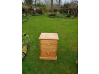 Pine Foolscap Filing Cabinet NOW REDUCED