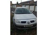 Quick sale!! Renault mégane 1,6 petrol, 2005 year
