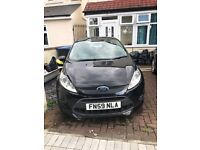 """Ford Fiesta 1.6 Zetec S. 16"""" Alloy wheels, Air Con, Aux, Radio with Cd"""