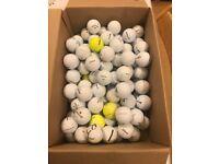 Golf balls, 106 used