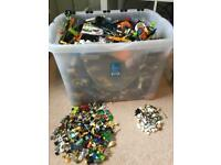 Lego job lot 15kg + 100's Of minifigures