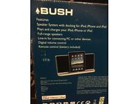 BUSH IPOD DOCKING STATION AND SPEAKER